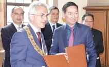 TP.HCM và Frankfurt ký ghi nhớ hữu nghị và hợp tác