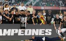Messi ghi bàn, Barca vẫn mất Cúp nhà vua vào tay Valencia