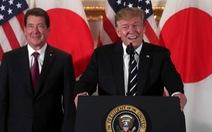 Ông Trump 'thượng đỉnh sumo' với ông Abe
