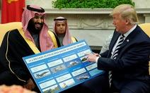 Ông Trump tuyên bố tình trạng khẩn cấp bán 8 tỉ USD vũ khí cho Trung Đông