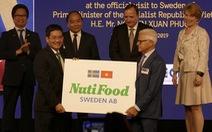 Nhà máy sữa Nutifood Sweden AB tại Thụy Điển chính thức hoạt động