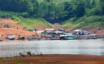 450 triệu đồng quy hoạch lại vùng nuôi cá bè trên hồ Trị An