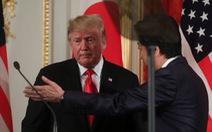 Đây, bài toán khó nhất ông Trump gửi ông Abe!