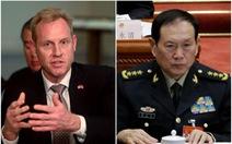 Lần đầu sau 10 năm, Bộ trưởng Quốc phòng Mỹ - Trung 'đối đầu' ở Shangri-La