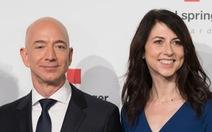 Vợ cũ tỉ phú Bezos giàu nhất thế giới hiến nửa gia tài làm từ thiện