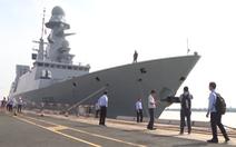 Chiến hạm của hải quân Pháp thăm TP.HCM