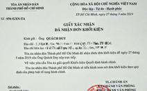 Chuyên viên văn phòng UBND TP.HCM kiện quyết định xử phạt 'xúc phạm người khác'