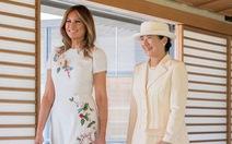 Đệ nhất phu nhân Mỹ tặng Hoàng hậu Nhật Bản món quà công phu gì?