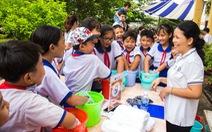 Lễ hội với không khí khoa học vui tươi cho học sinh
