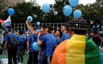 Đài Loan công nhận hôn nhân đồng giới gây lúng túng cho Trung Quốc
