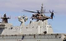 Trực thăng Úc bị tàu Trung Quốc chiếu laser khi bay trên Biển Đông