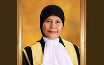 Malaysia bổ nhiệm nữ chánh án tòa án liên bang đầu tiên