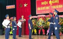 Thành lập Hải đoàn 42 trực thuộc Vùng Cảnh sát biển 4