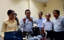 Đoàn nhà báo TP.HCM tham quan Công viên phần mềm Quang Trung