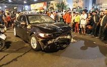 Nữ lái xe BMW gây tai nạn liên hoàn ở Hàng Xanh hầu tòa