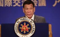 Ông Duterte: 'Tôi yêu Trung Quốc, nhưng tôi... buồn lắm!'