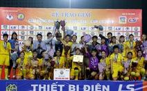 Phong Phú Hà Nam vô địch Giải bóng đá nữ Cup Quốc gia