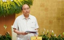 Họp Chính phủ thường kỳ, Thủ tướng yêu cầu báo cáo việc tăng giá điện