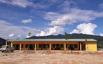 Những ngôi trường xây từ lấm lòng - Kỳ cuối: Lên non xây trường