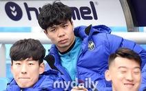 Công Phượng lại không được đăng ký thi đấu cho Incheon