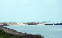 Báo cáo Thủ tướng việc khai thác cát trong lòng hồ Dầu Tiếng