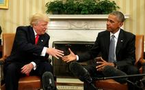 Trump và Obama được người Mỹ ngưỡng mộ ngang nhau