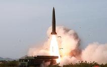 Chuyên gia nói vũ khí Triều Tiên mới thử là 'tên lửa đạn đạo'