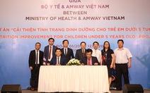 85.362 trẻ tại Nghệ An, Hà Giang sẽ được cải thiện dinh dưỡng