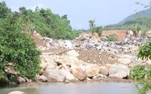 Đà Nẵng phạt, buộc dừng thi công dự án công viên suối khoáng nóng Núi Thần Tài