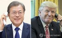 Ông Trump ủng hộ Hàn Quốc viện trợ nhân đạo cho Triều Tiên