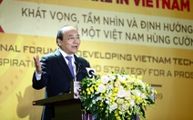 Thủ tướng: Công nghệ là cơ hội để Việt Nam thoát bẫy thu nhập trung bình