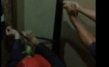 Phá cửa thang máy khách sạn, giải cứu 8 người mắc kẹt