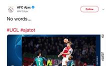 CĐV Ajax chết lặng sau bàn thắng quyết định của Moura