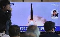 Triều Tiên: 'Thử tên lửa là phòng vệ và thường kỳ không nhắm vào ai'