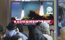 Triều Tiên tiếp tục phóng vật thể không xác định