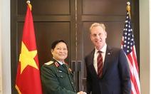 Hai bộ trưởng Quốc phòng Việt - Mỹ gặp song phương tại Shangri-La