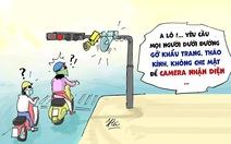 Biếm họa camera an ninh cũng đành bó tay