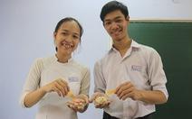 Học sinh lớp 11 sáng chế giấy phát hiện chất bảo quản