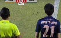 Vào sân phút 75, Xuân Trường góp sức giúp Buriram United giành 1 điểm