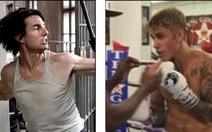 Justin Bieber thách Tom Cruise đấu võ tự do