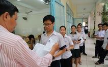 TP.HCM công bố điểm chuẩn lớp 10 chuyên
