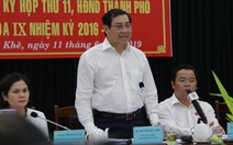 Chính phủ sẽ quyết vụ nợ tiền đất tái định cư cho dân Đà Nẵng