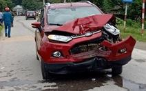 Tạm đình chỉ thiếu úy công an lái xe gây tai nạn làm 2 người chết