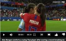 Video nữ cầu thủ Thái Lan bật khóc sau khi lập 'kỷ lục buồn' ở World Cup