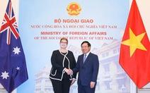 Úc cam kết tăng cường lợi ích kinh tế và chiến lược với Việt Nam