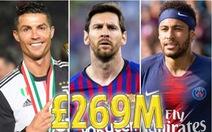 Messi vượt mặt Ronaldo trong công bố mới nhất của Forbes