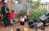 Tấn công 5 tụ điểm bán ma túy núp sau nghĩa trang