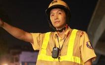 Trang bị camera gắn ngực cho cảnh sát giao thông