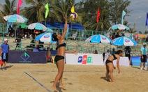 Thái Lan và Singapore tham gia giải bóng chuyền biển quốc tế tại Quảng Nam