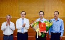Ông Lê Văn Minh làm phó Ban tuyên giáo Thành ủy TP.HCM